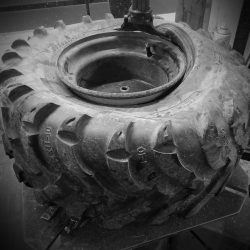 Roxby-Road-Garage-Winterton-North-Lincolnshire_Off_Road_Tyre_bw