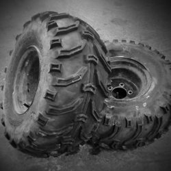 Roxby-Road-Garage-Winterton-North-Lincolnshire_Tractor_Tyre_bw