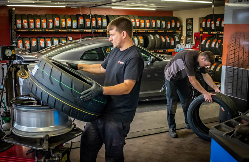 Roxby Road Garage Tyre Fitting